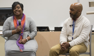 Former LU Coach Frank Hickson, Sr., and wife, Meesha Hickson, share personal story.