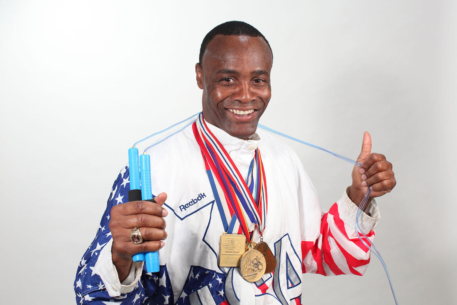 Anthony 'Buddy' Lee, an Olympic wrestler and jump rope fitness advocate, will be the featured speaker at the 2018 Commonwealth Games' opening ceremonies on July 27.