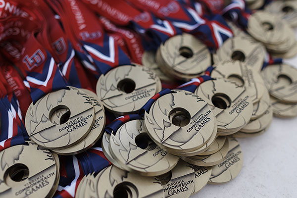 Medal winners from 2017 and 2018 competitions in 34 states qualify for next summer's State Games of America, to be hosted by Liberty from July 29-Aug. 4, 2019. (Photo by Joel Coleman)