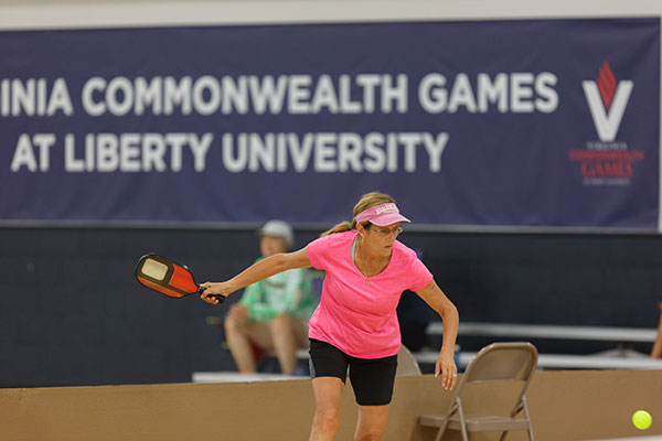 Pickleball, set for July 24-27 in the LaHaye Recreation & Fitness Center, is one of the fastest growing sports in the Commonwealth Games. (Photo by Joel Coleman)