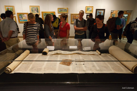 Rare, ancient manuscripts on display in Art Gallery