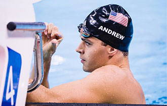 Michael Andrew will enter five events at next week's Olympic Trials in Nebraska.