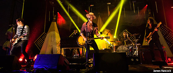 NEEDTOBREATHE lit up the stage before the rains came at the 2014 Block Party.
