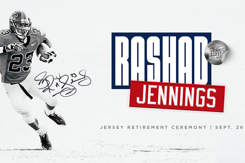 Liberty to retire Rashad Jennings' #23 jersey at FIU Game Sept. 26 ...