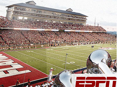 Flames Football Agrees To Multi Year Agreement With Espn Liberty News