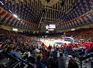 Basketball Game in the Vines Center