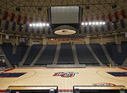 Basketball Court in the Vines Center