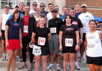 Virginia 10 Miler participants