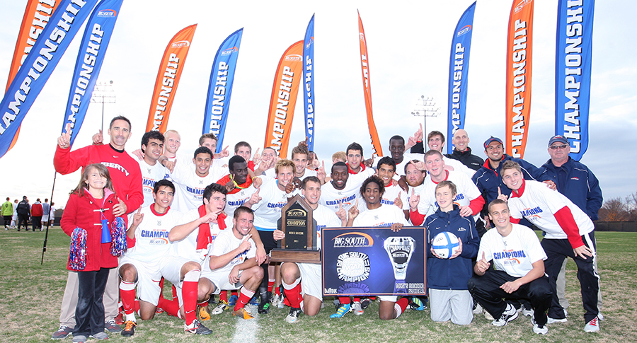 Men S Soccer Team History Page Liberty Flames
