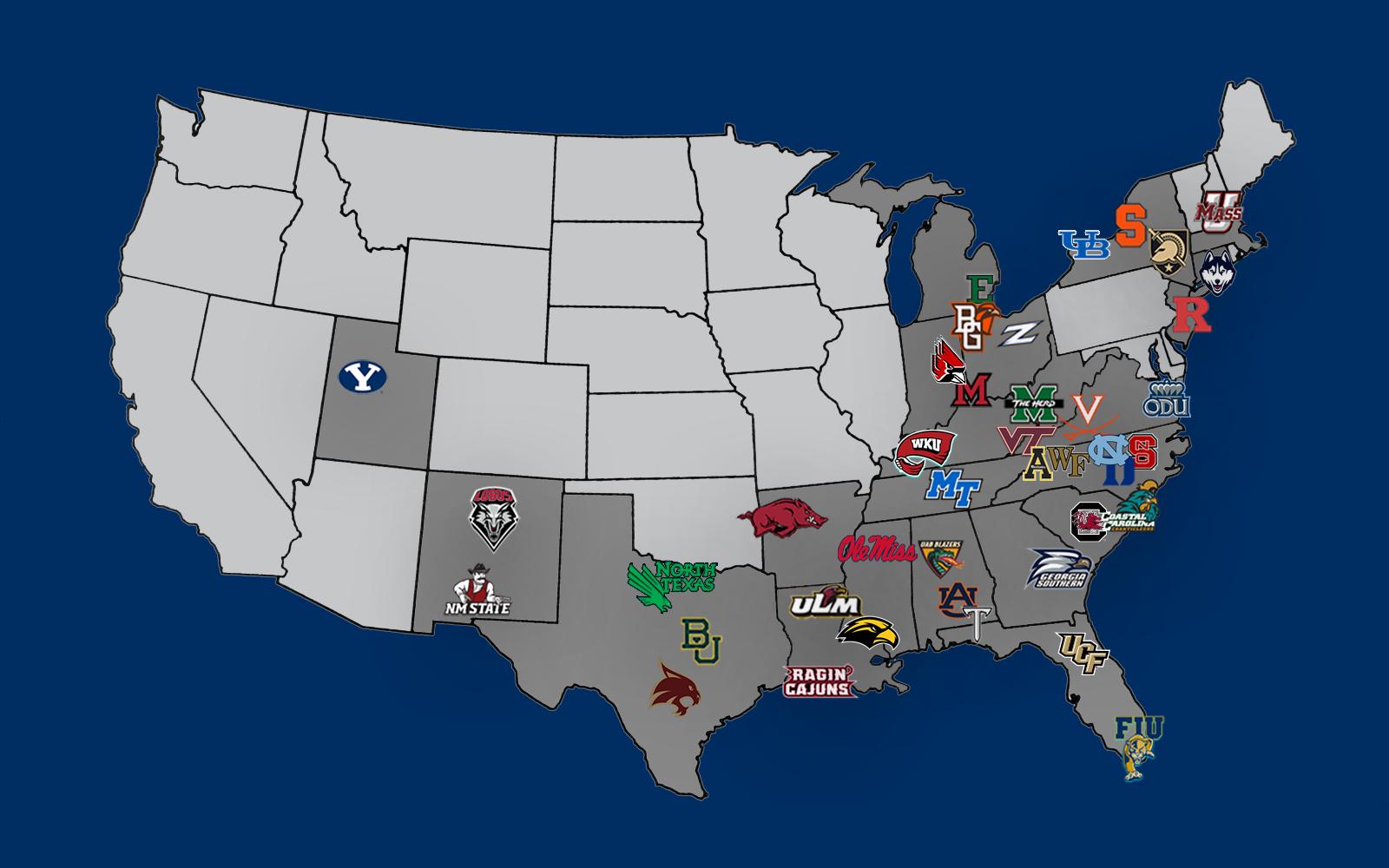 Liberty University Calendar 2022 2023.Football Future Schedules Liberty Flames