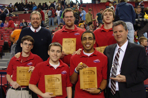 Liberty's 2010 Quiz Bowl Champions