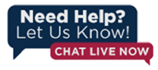Need help? Let us know! Chat Live Now