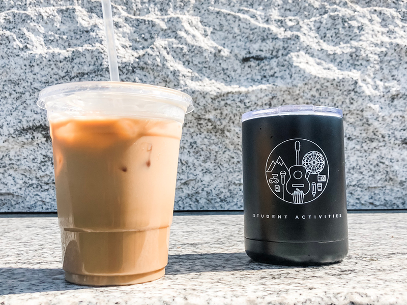 Nomad Coffee and Free Student Activities Tumblers!