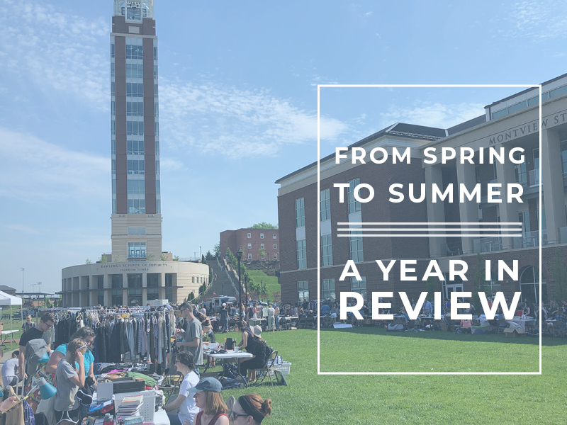 From Spring to Summer // A Year in Review