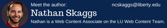 Nathan Skaggs Web Content Associate