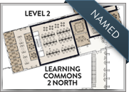 Learning Commons 2 (North Wing) has been named