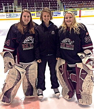 Goalie Smith Was Lady Flames First Recruited Hockey Player Club