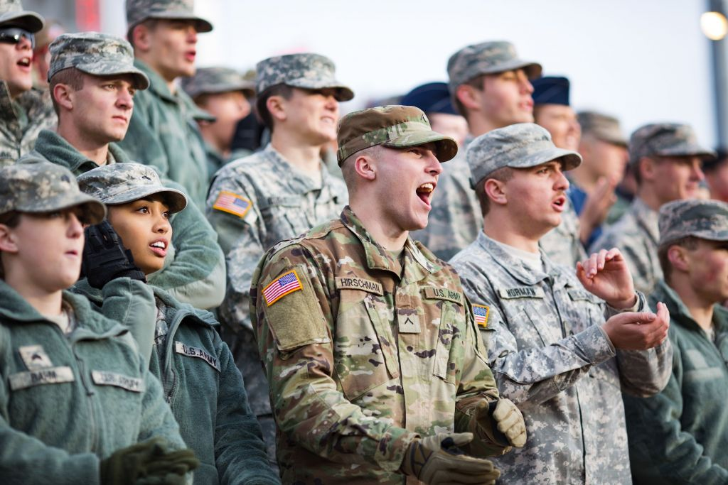 Liberty salutes the nation's military in special Veterans ...