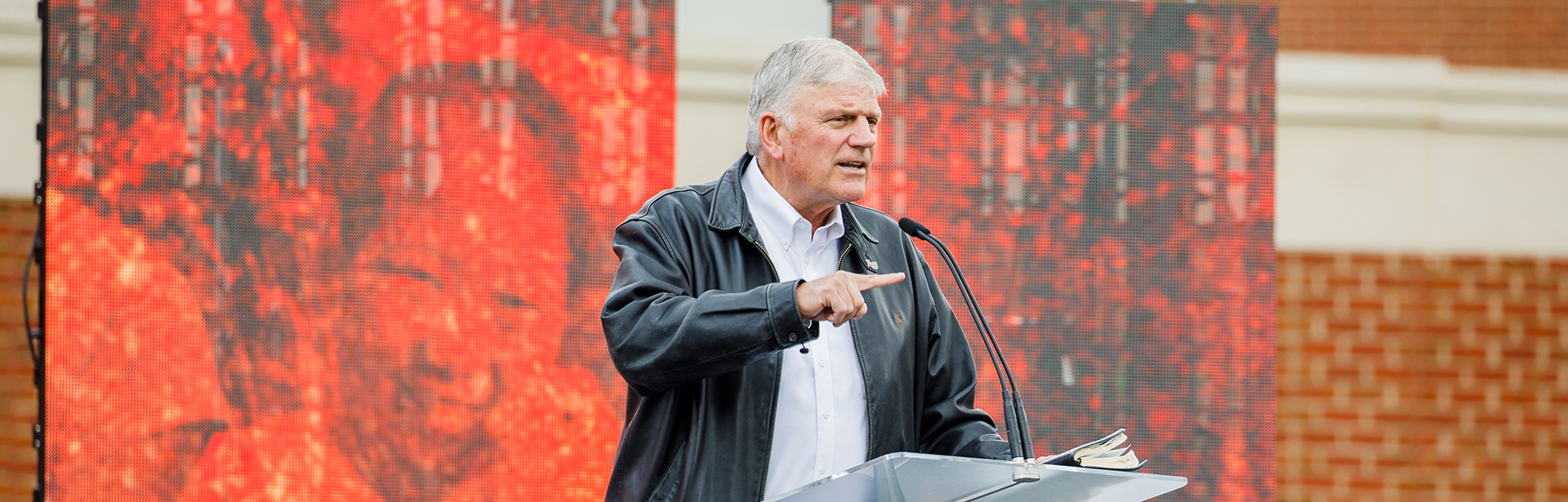 WATCH: Franklin Graham Delivers Convocation Speech at Liberty University