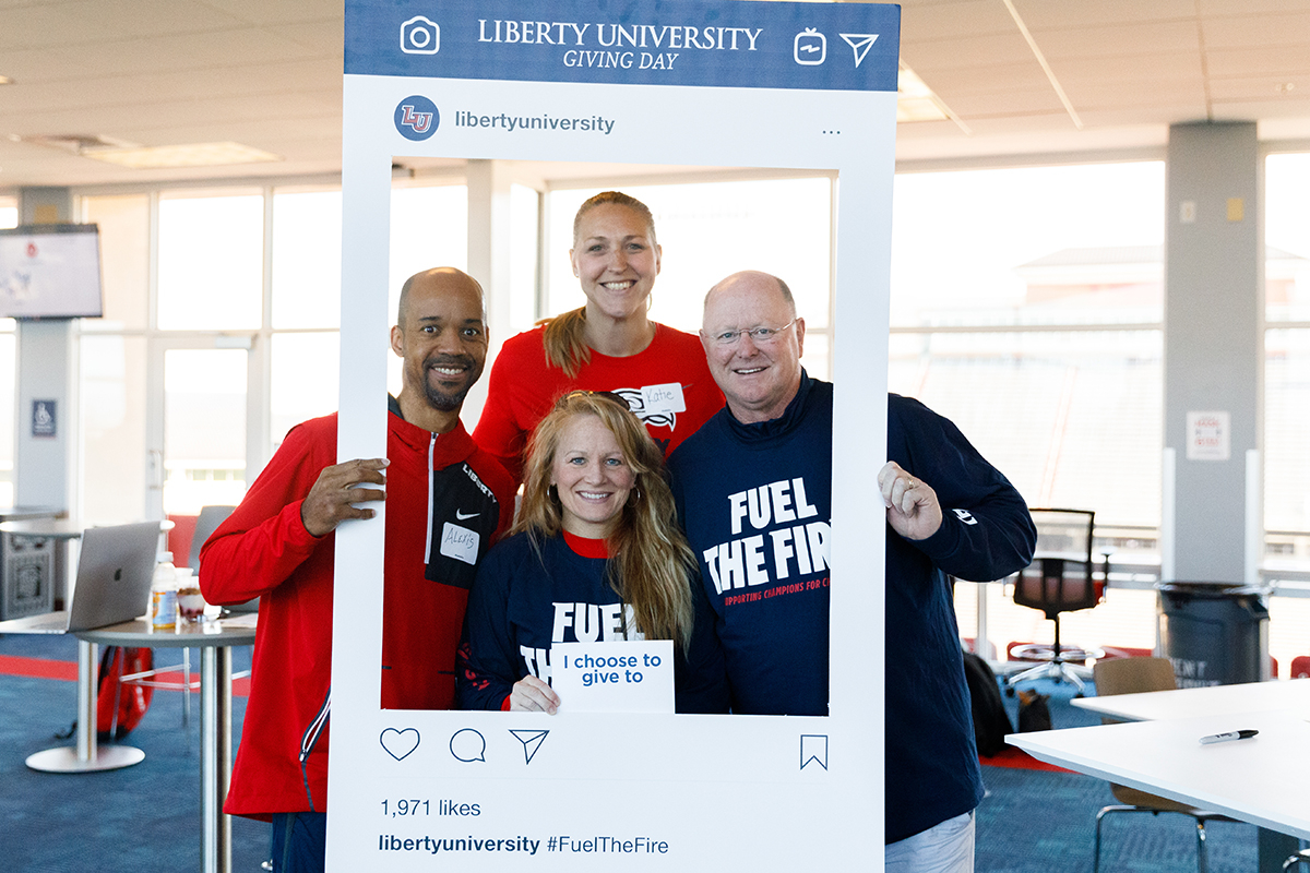 Liberty University's inaugural 'Giving Day' raises over $2 million to support multiple programs across campus