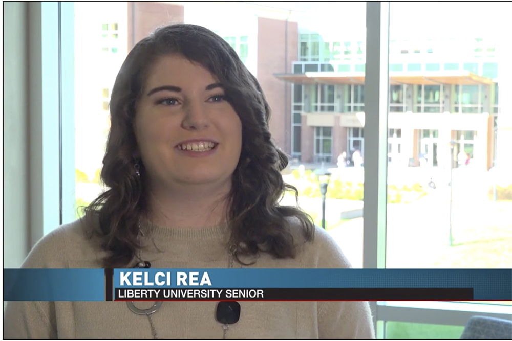 WDBJ: Liberty University senior details job search challenges through pandemic