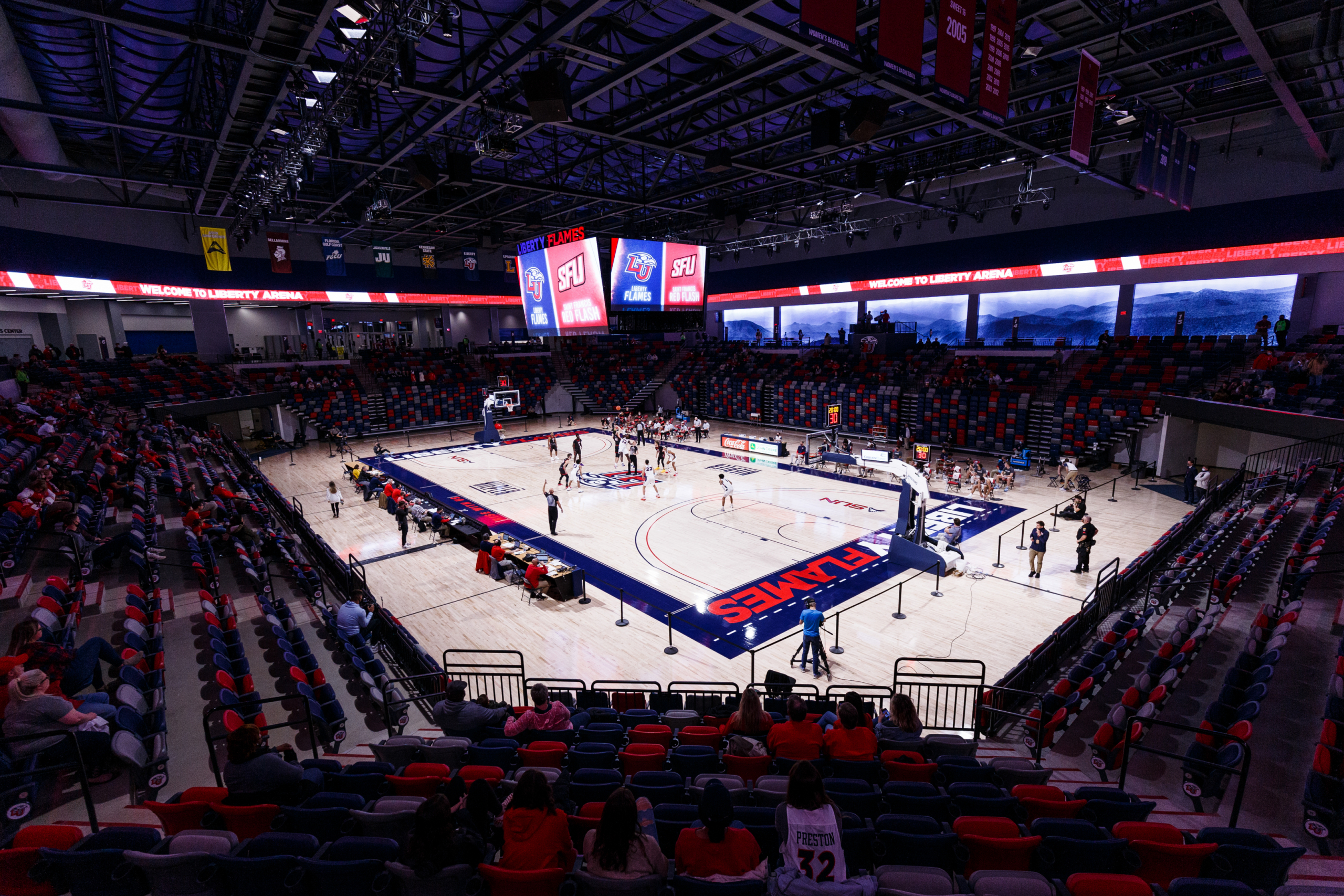 Liberty basketball victories make great housewarming gifts for teams' debuts in new arena