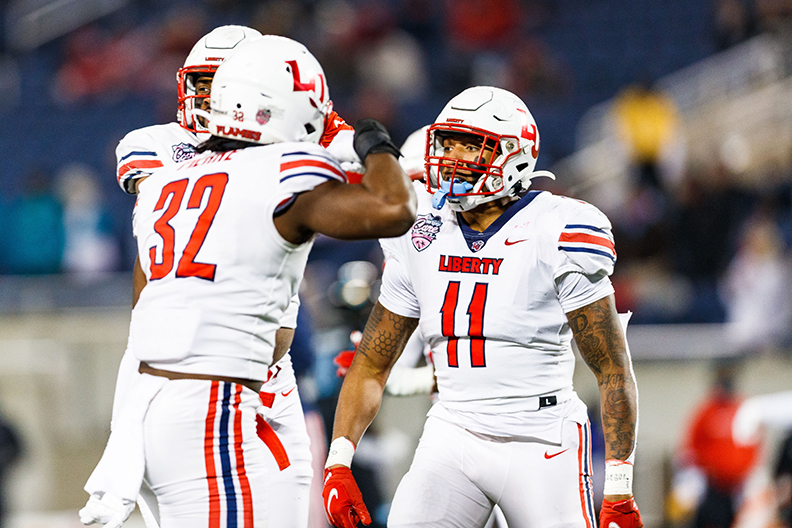 Liberty Football finishes 2020 with best-ever national rankings