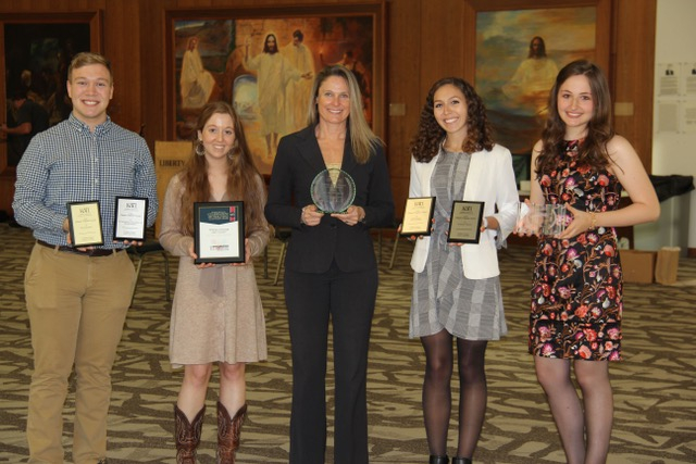 School of Education students bring home seven national awards for Kappa Delta Pi chapter