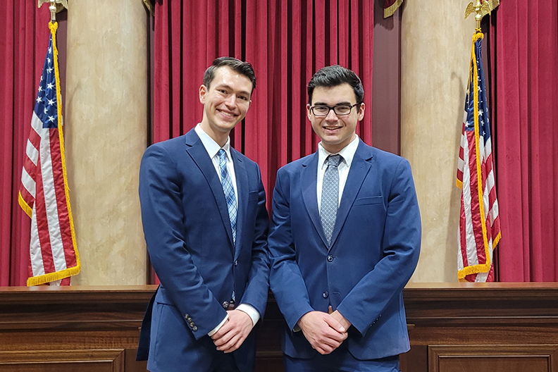 Moot Court team wins national championship