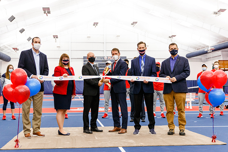 Game-changing Liberty Indoor Tennis Center officially opens with dedication event