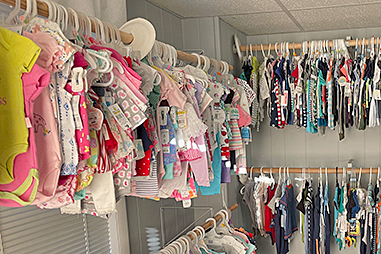 The Journey Radio Network helps collect over 1,300 gifts for the 'World's Largest Baby Shower'