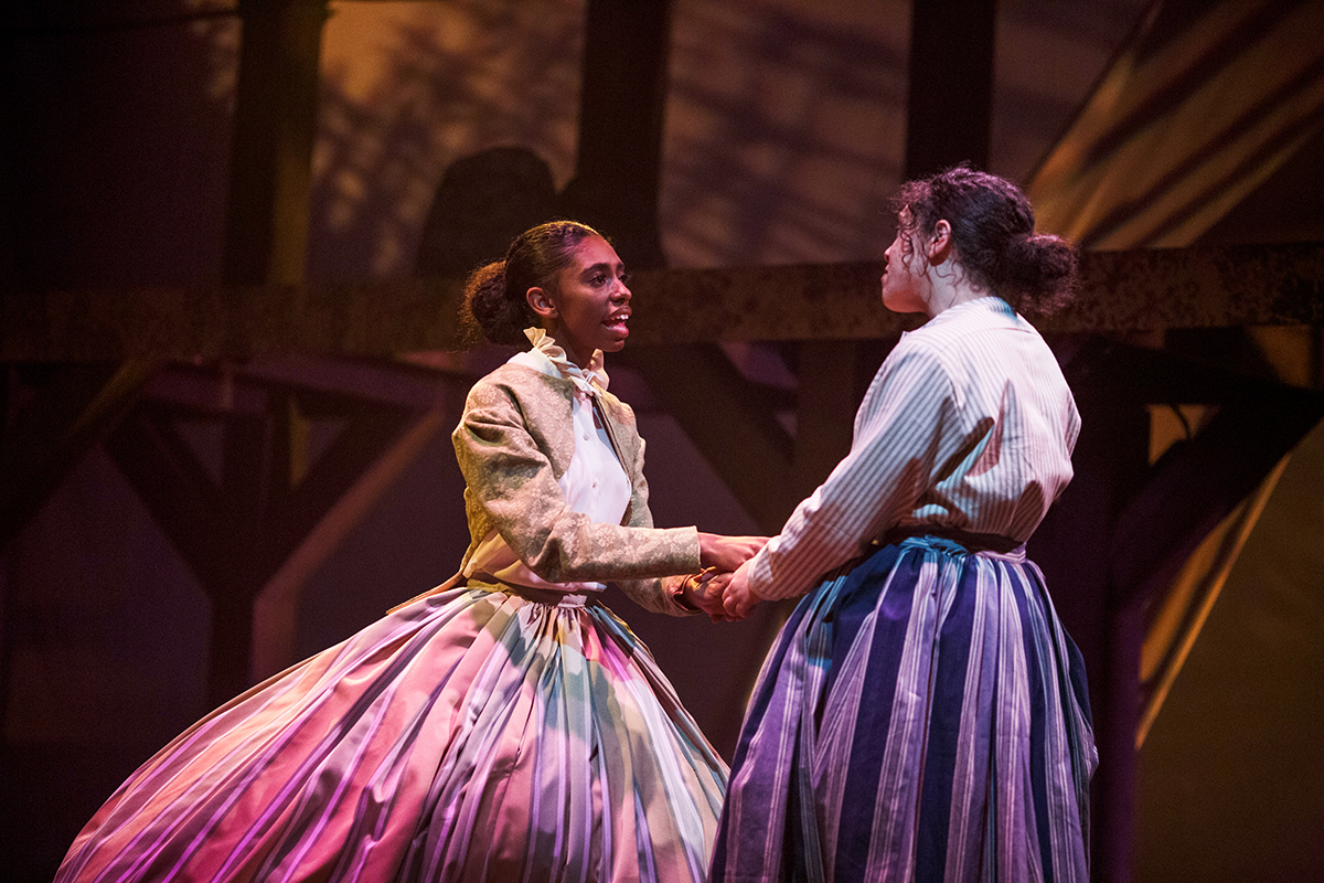 Theatre students perform original play telling 'unpenned' story of female slaves who served as Civil War spies