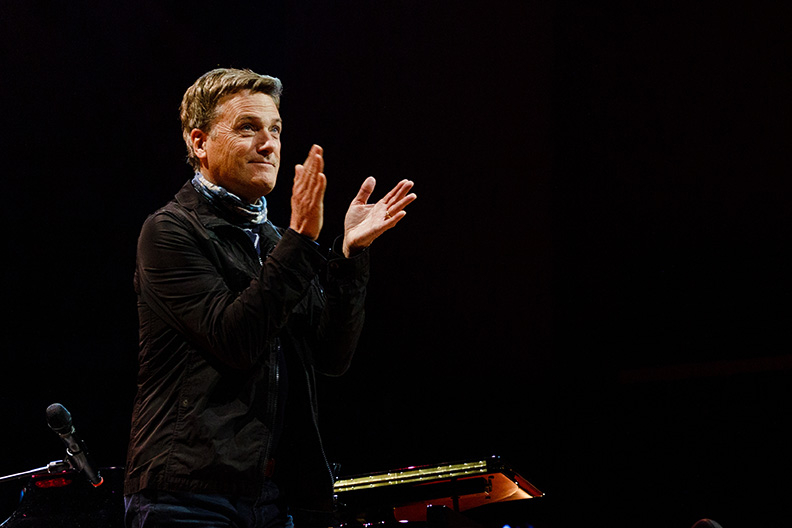 School of Music partner Michael W. Smith encourages students to trust God in their faith  and career pursuits