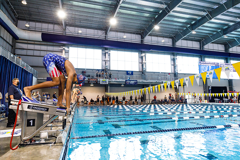 Pool time: Liberty Natatorium proves to be a prime venue for top-level competition