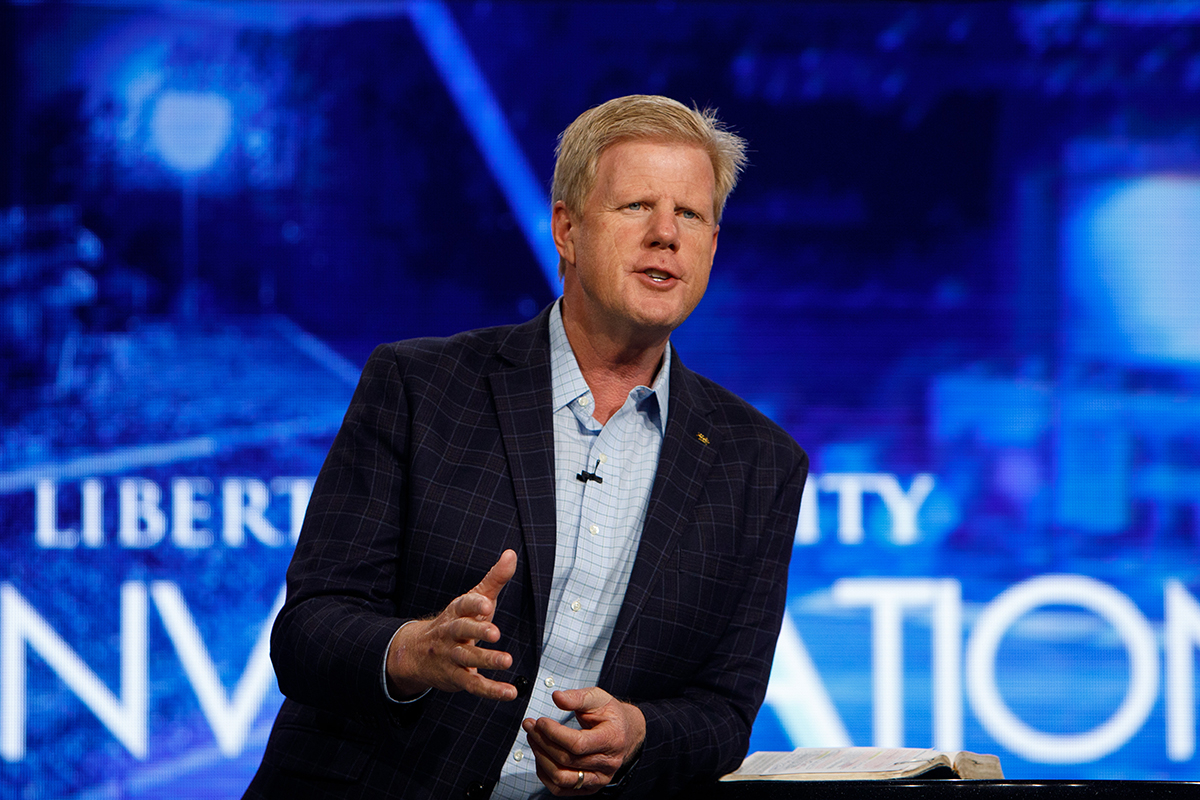 WSLS: Jonathan Falwell named Liberty University's new campus pastor