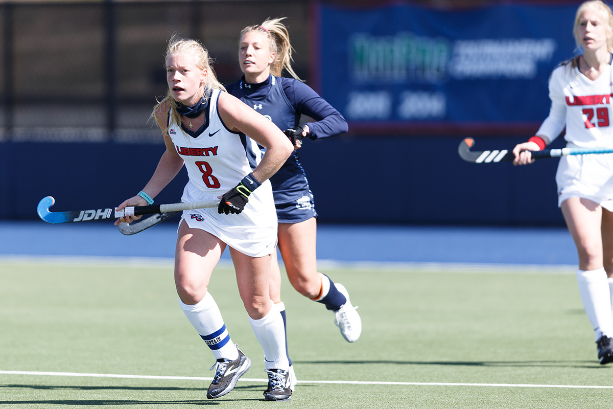 Liberty field hockey defender proud to share faith and sport during historic season