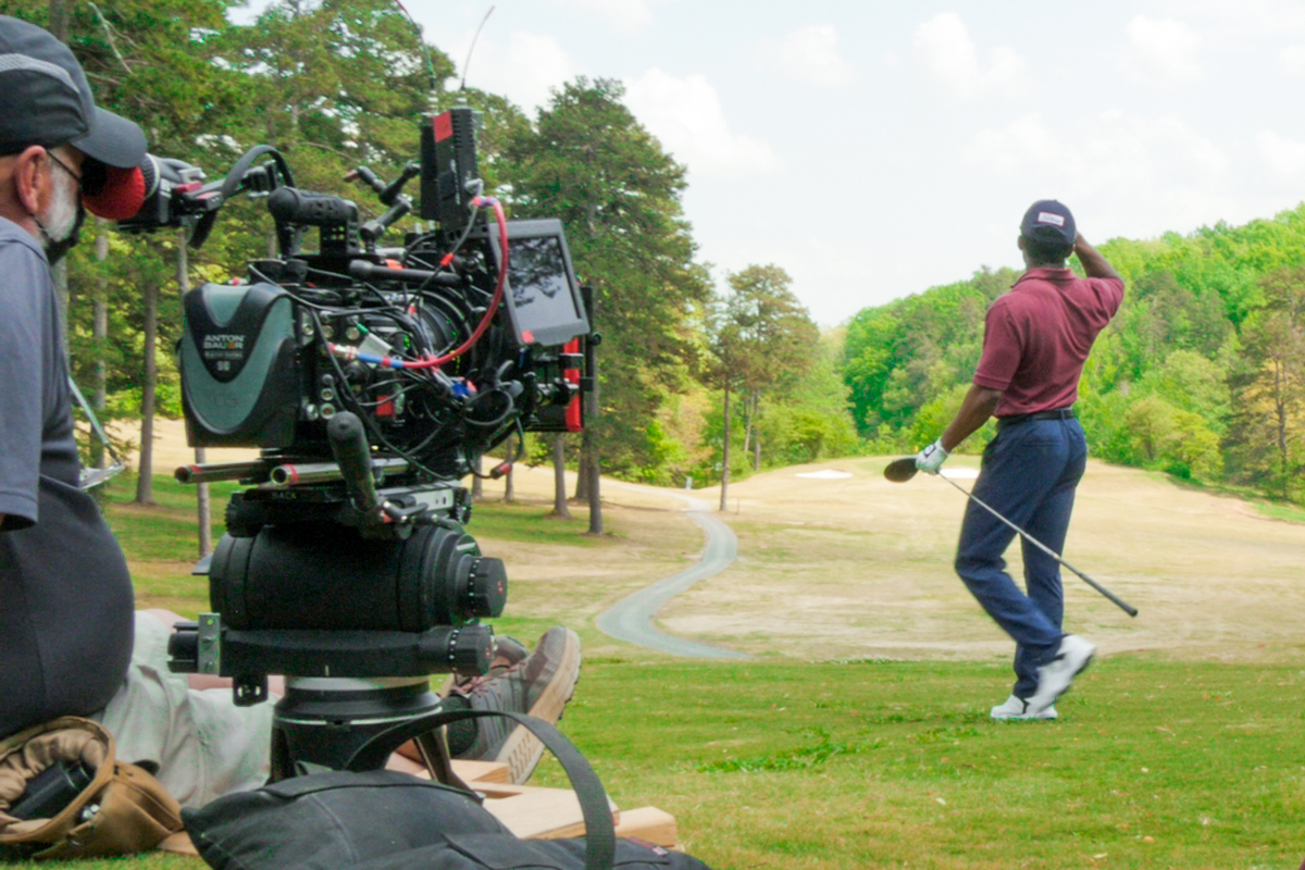 Cinematic arts students tee off production of feature film on Georgia golf course