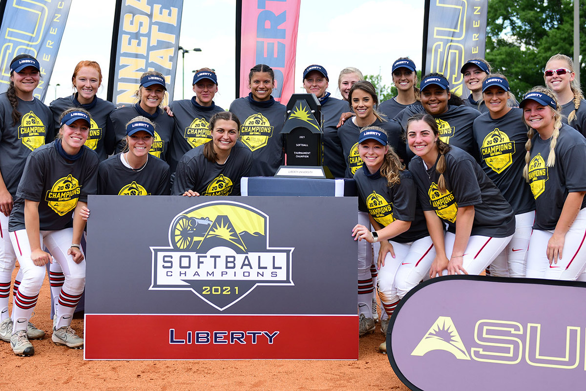 Softball team takes ASUN conference crown, punches ticket to NCAA championships