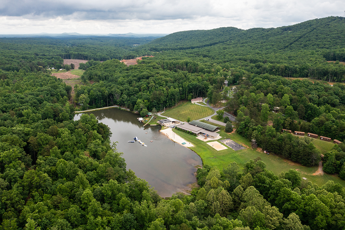Liberty University clears land for major lake expansion on Liberty Mountain