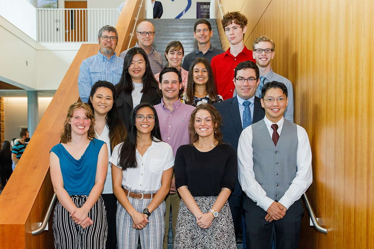 Biology & Chemistry students from underrepresented demographics take part in new summer research program