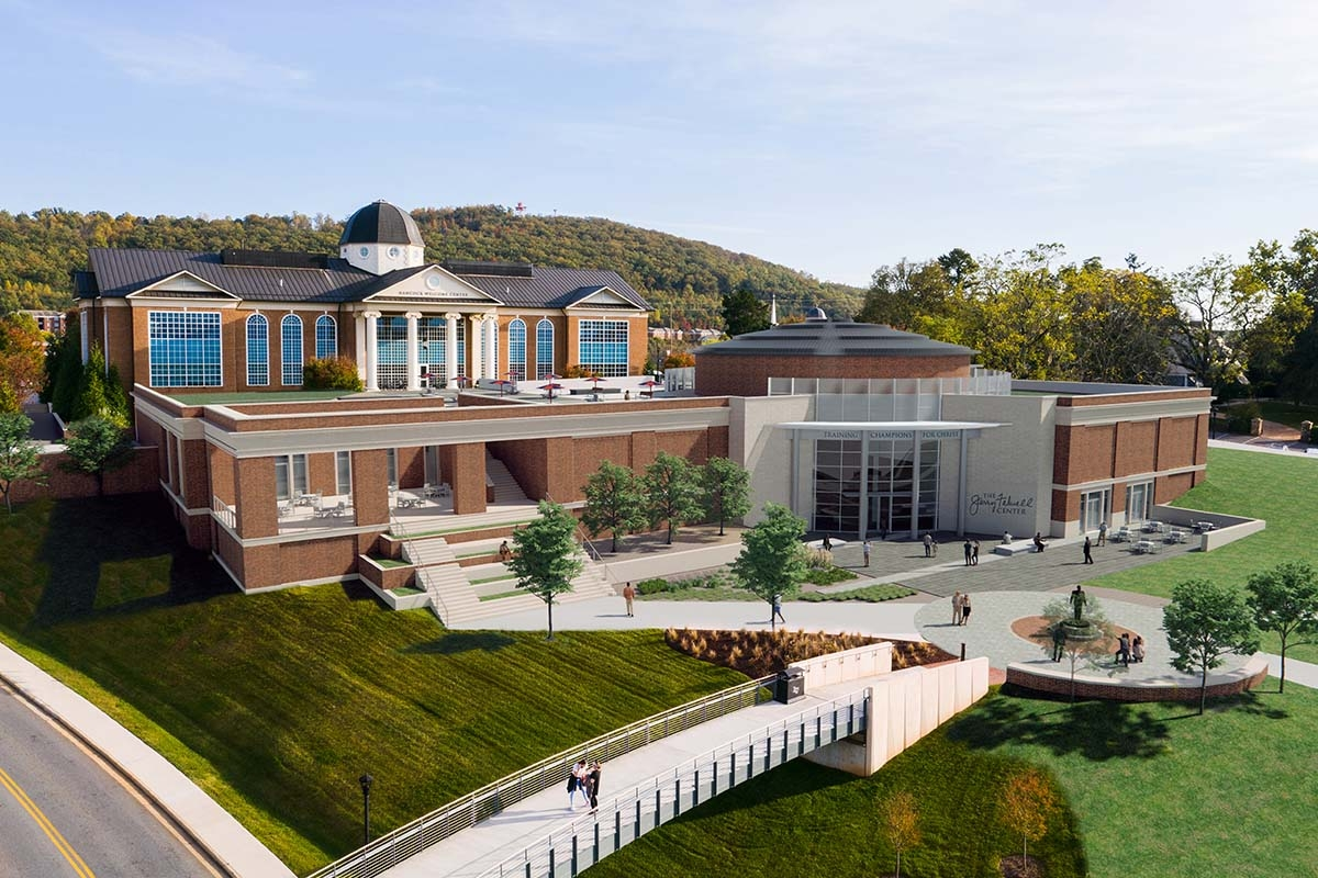 Liberty University to build new center to honor founder's legacy and preserve mission of Training Champions for Christ