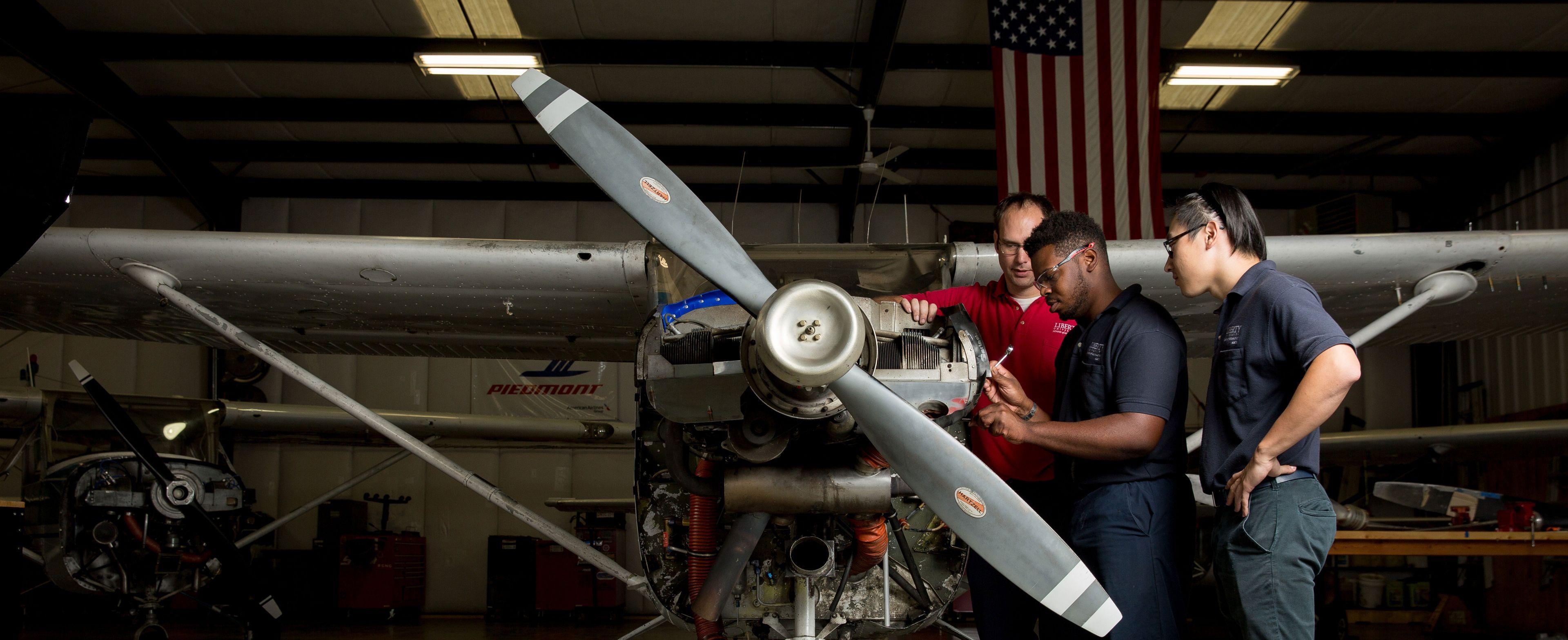Bachelor of Science in Aviation Maintenance Management Online Degree Program
