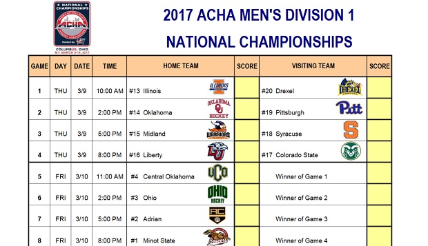 Flames earn bid to ACHA DI National Championships in Ohio test test test test