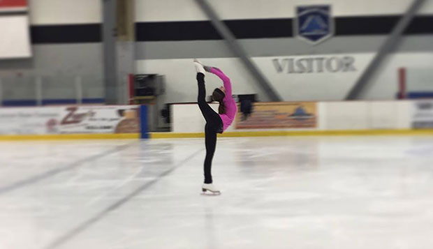 Cami Burkhardt, from North Carolina, placed 15th in Friday's short program and 25th overall in the USFSA Collegiate Championships hosted by Robert Morris University. test test test test
