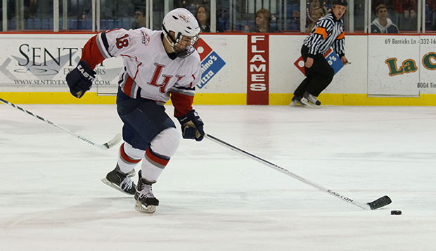Wild third period propels Liberty DI men past Arizona test test test test