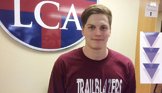 David Schafer will graduate from Liberty Christian Academy this spring before launching his career at Liberty as the first recruit of the new men's swimming & diving team in the fall. test test test test
