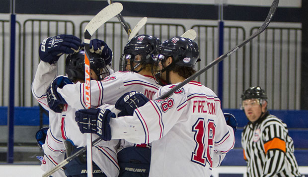 Flames tame Nittany Lions for ACHA DII Nationals return bid test test test test