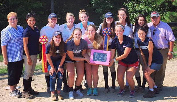 Liberty's Hunter Seat equestrian team claimed its first regular-season event title Saturday at the University of Richmond. test test test test