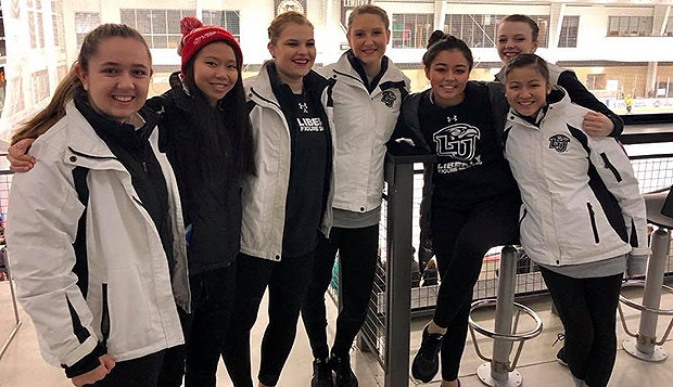 Figure skaters finish with eighth-place sectionals showing test test test test