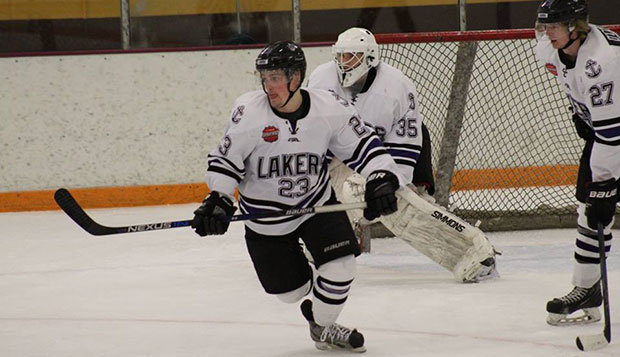 Jamie Crane scored 16 goals and distributed 11 assists in 21 games with the Forest Lake (Minn.) Lakers this past season. test test test test